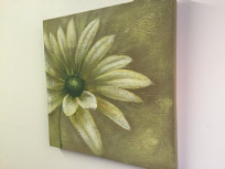 Natural Flower Art Oil Painting on Canvas Wall Decor B